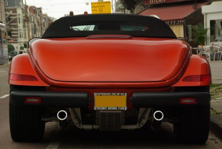 Plymouth Prowler - Foto Jim Appelmelk