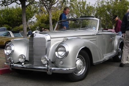 Mercedes-Benz 300S - Rose Bowl - Foto Peter