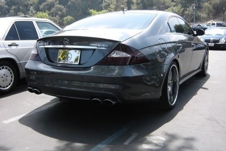 Mercedes-Benz CLS - Rose Bowl - Foto Peter