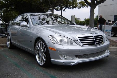 Mercedes-Benz S550 Carlsson - Rose Bowl - Foto Peter
