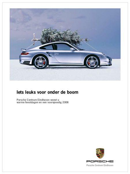 Porsche Centrum Eindhoven kerstwens