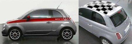 Fiat 500 options