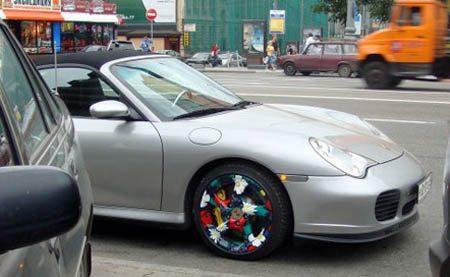 Porsche flower rim