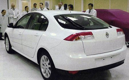 Renault Laguna Spyshot