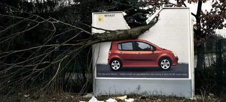 Renault Modus billboard