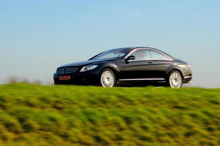 Mercedes-Benz CL500 - in actie