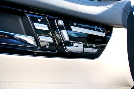 Mercedes-Benz CL500 - interieur detail deur