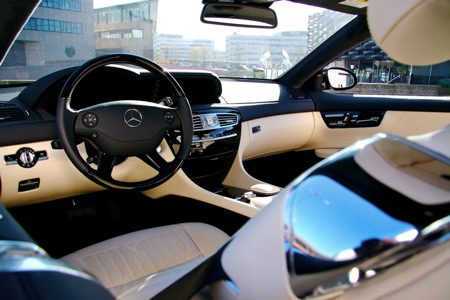 Mercedes-Benz CL500 - interieur