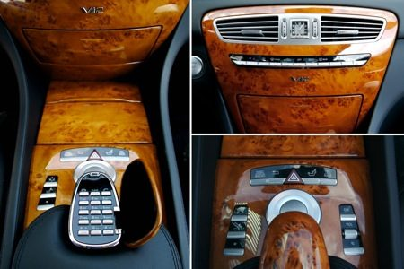 Mercedes-Benz CL65 AMG console