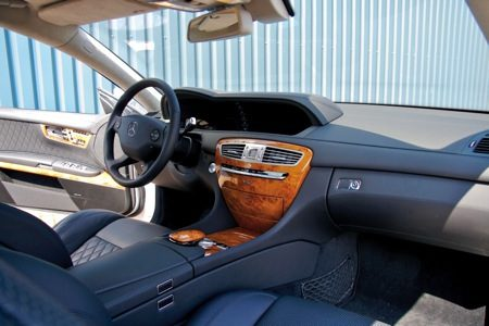 Mercedes Benz CL65 AMG interieur