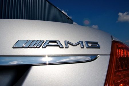 Mercedes-Benz CL65 AMG logo