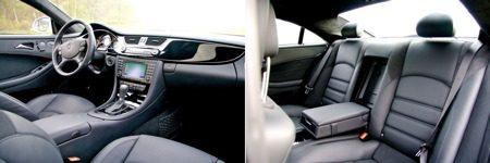 Mercedes-Benz CLS63 AMG interieur
