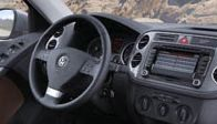 VW Tiguan interieur met Touchscreen