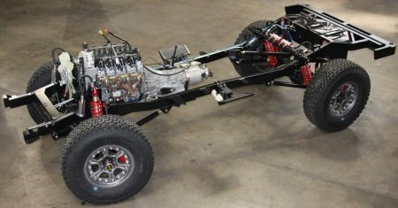 chassis en motor