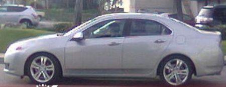 Acura TSX spyshot