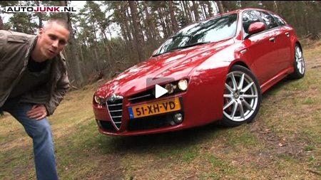 Alfa 159 op video