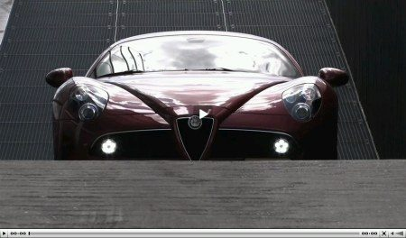Alfa Romeo 8C Competizion video