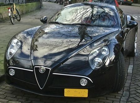 Alfa Romeo 8C Competizione Prins Bernhard