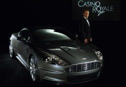 Aston Martin DBS, James Bond