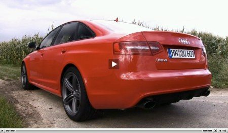 Audi A6 facelift en RS6 video