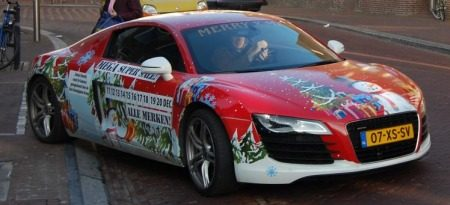 Audi R8 Kerst