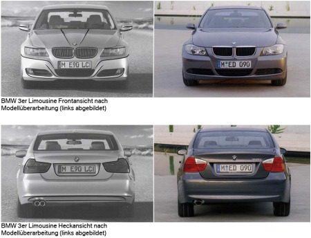 BMW 3 Serie E90 LCI