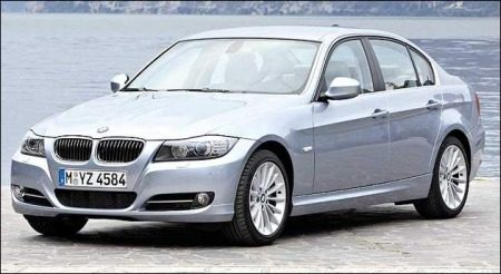 BMW 3-serie facelift