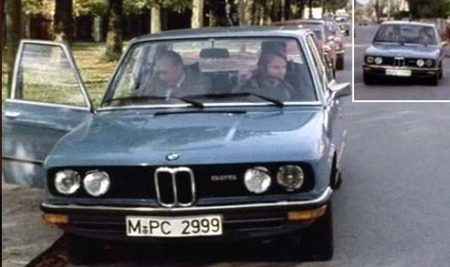 BMW 5 Serie E12 Derrick