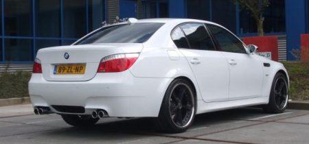 BMW M5 wit