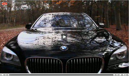 BMW 750Li video
