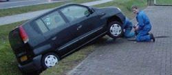 Bejaarden auto