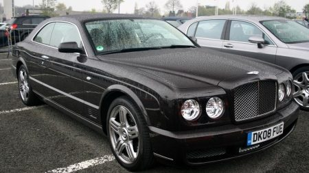 photo of Paul Kasey Bentley Continental - car
