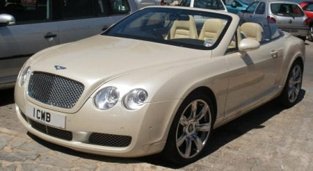 Bentley Continental GTC Creme