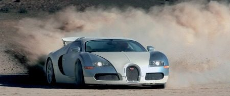 Bugatti Veyron vervuiling