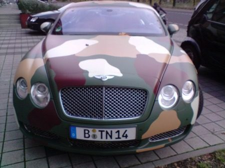 Army style Conti GT