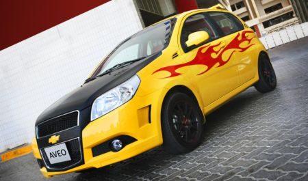 Chevrolet Aveo Factory Customization