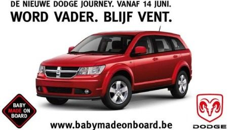 Dodge Journey, Baby made on board