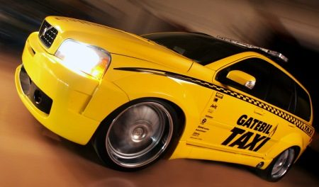 Gatebil XC90 taxi