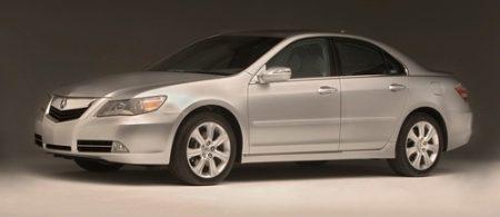 Gefacelifte Honda Legend