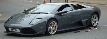 Lamborghini LP640 crash Chelsea