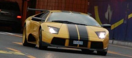 Lamborghini Murcielago Cargraphic