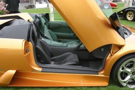 Lamborghini Murcielago LP640 Roadster Groen Zwart