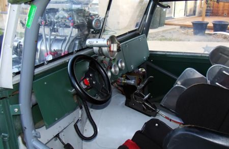 Land Rover Defender Dragster
