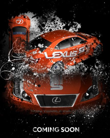 Lexus IS 350 GT2 artwork