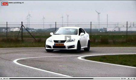 Lexus IS-F video