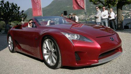 Lexus LF-A cabrio