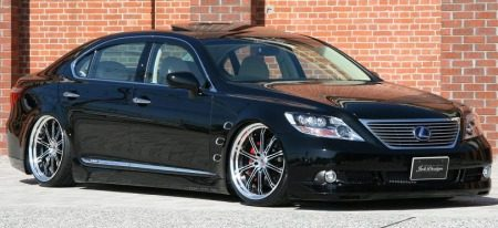 Lexus LS600h Job design