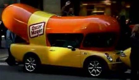 """MINI Cooper S """"Wienermobile"""""""
