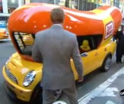 2015 Mini Cooper Crash Reviews as well Sausage Party further Pollas Grandes moreover Lego Wienermobile likewise Mini Cooper S Wienermobile. on oscar mayer wienermobile mini cooper