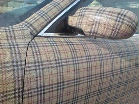 Maserati Burberry-ride